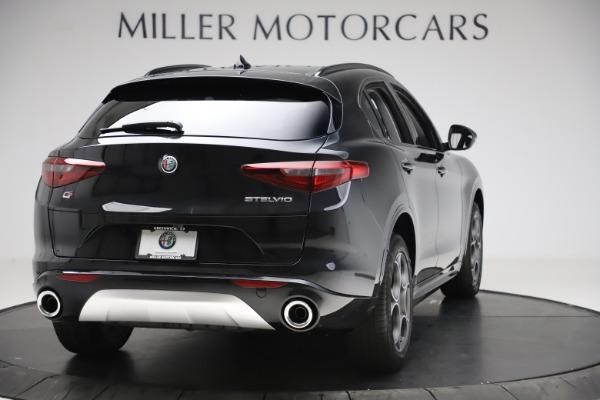 New 2020 Alfa Romeo Stelvio Sport Q4 for sale $49,695 at Rolls-Royce Motor Cars Greenwich in Greenwich CT 06830 7