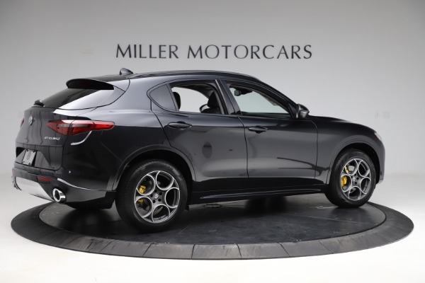 New 2020 Alfa Romeo Stelvio Sport Q4 for sale $49,695 at Rolls-Royce Motor Cars Greenwich in Greenwich CT 06830 8