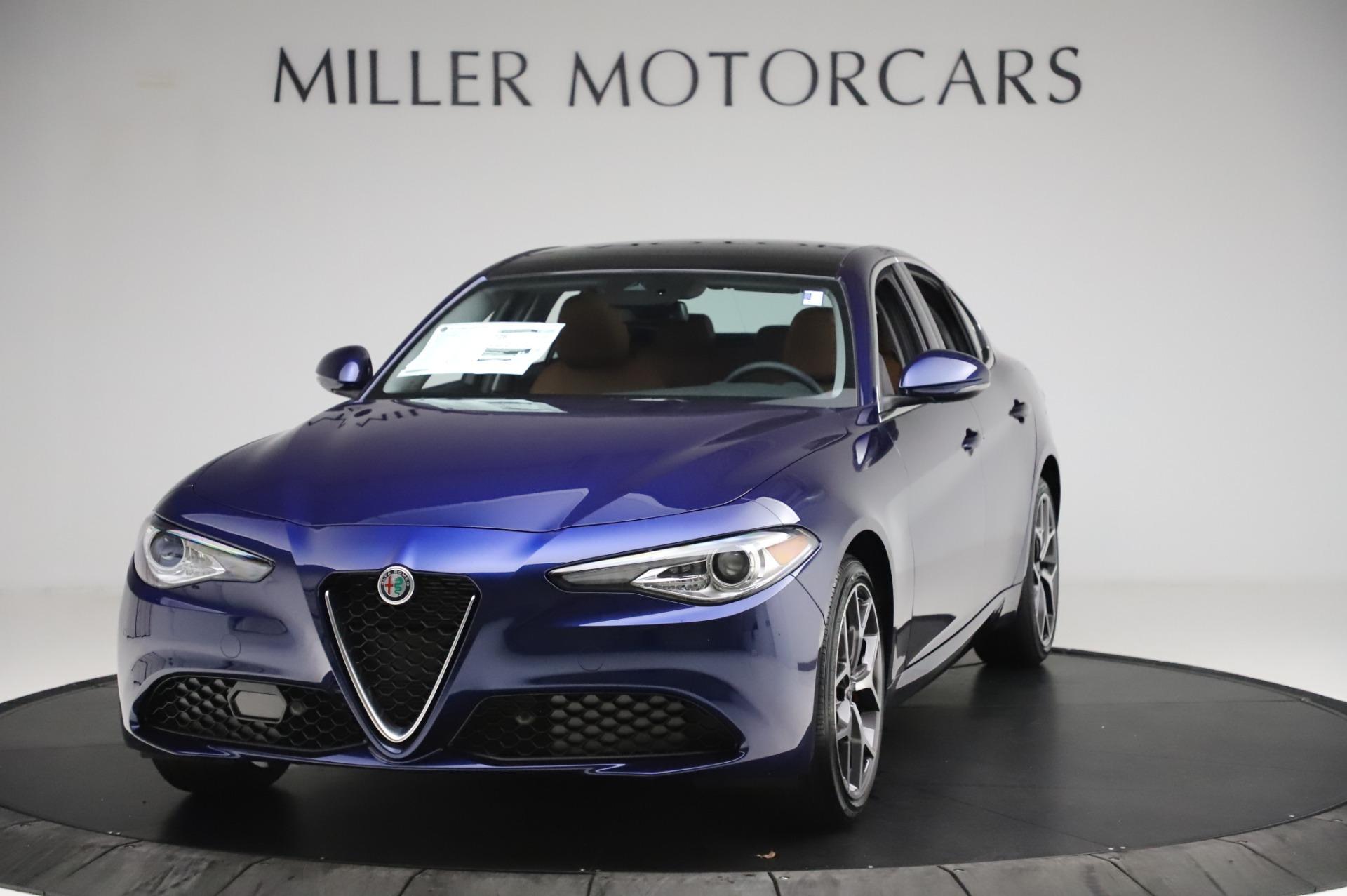 New 2020 Alfa Romeo Giulia Ti Q4 for sale $51,145 at Rolls-Royce Motor Cars Greenwich in Greenwich CT 06830 1