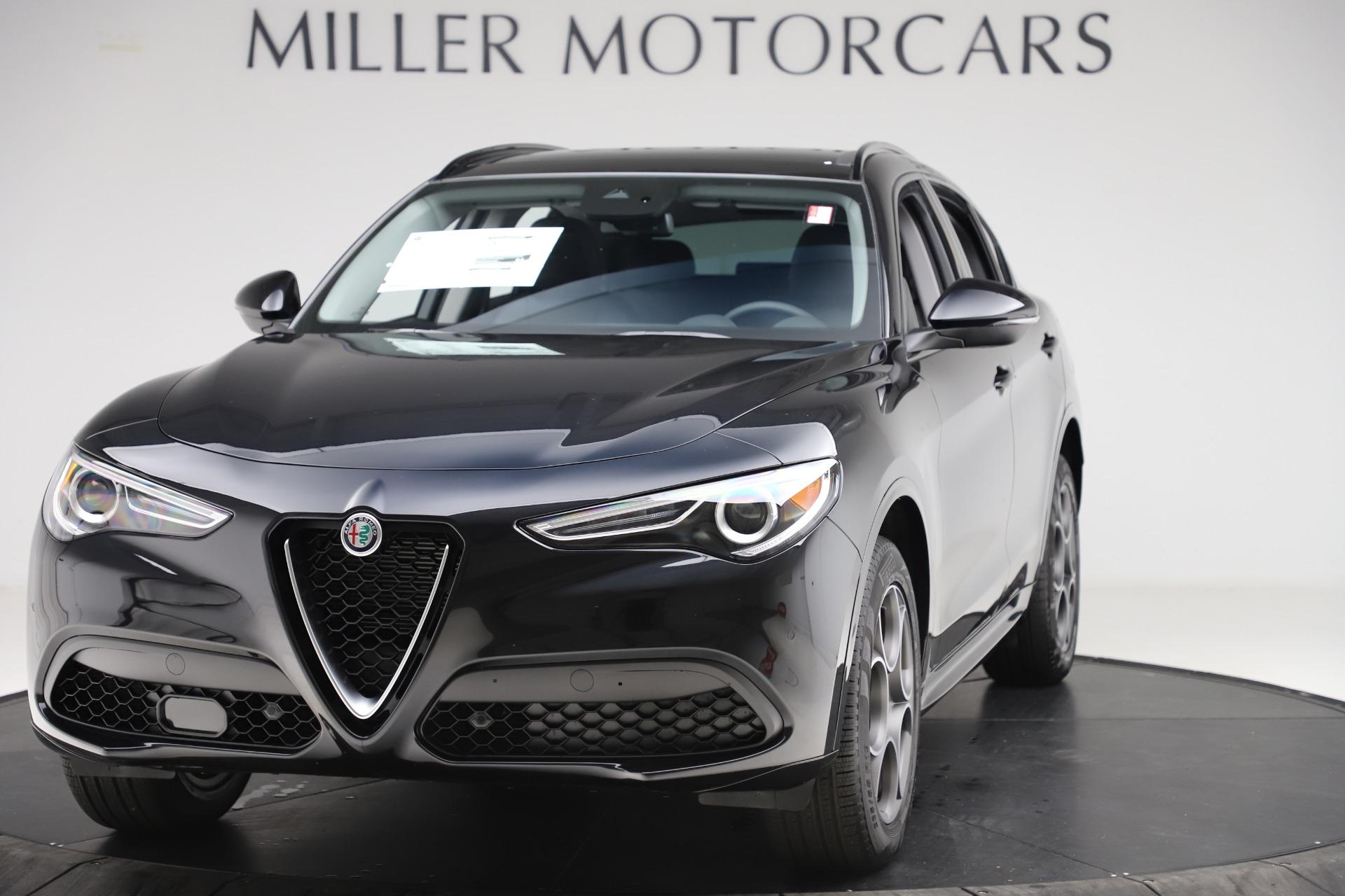 New 2020 Alfa Romeo Stelvio Sport Q4 for sale $49,695 at Rolls-Royce Motor Cars Greenwich in Greenwich CT 06830 1
