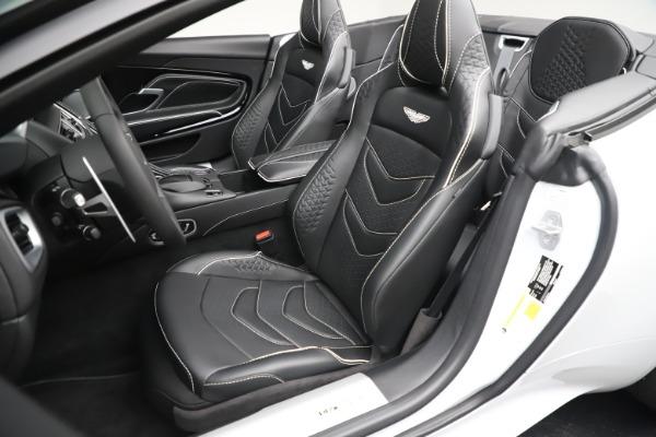 New 2020 Aston Martin DBS Superleggera Volante Convertible for sale $353,931 at Rolls-Royce Motor Cars Greenwich in Greenwich CT 06830 15