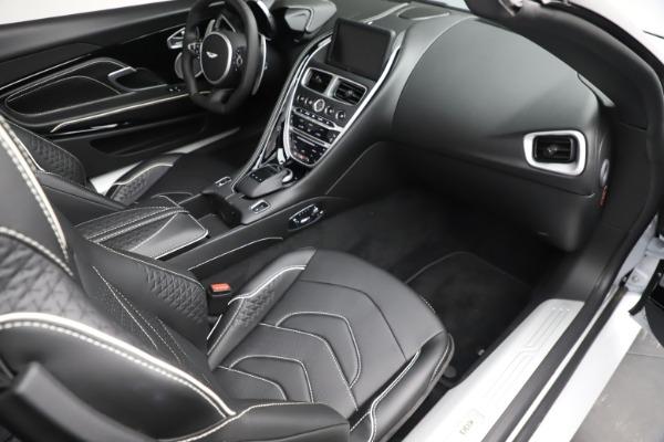 New 2020 Aston Martin DBS Superleggera Volante Convertible for sale $353,931 at Rolls-Royce Motor Cars Greenwich in Greenwich CT 06830 17