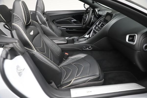 New 2020 Aston Martin DBS Superleggera Volante Convertible for sale $353,931 at Rolls-Royce Motor Cars Greenwich in Greenwich CT 06830 18