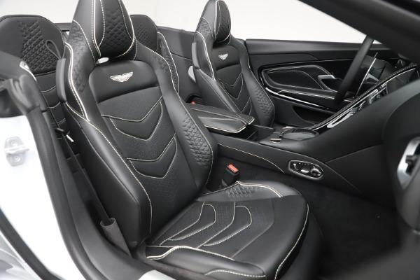 New 2020 Aston Martin DBS Superleggera Volante Convertible for sale $353,931 at Rolls-Royce Motor Cars Greenwich in Greenwich CT 06830 19