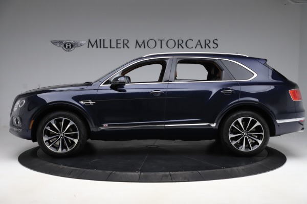 Used 2017 Bentley Bentayga W12 for sale Sold at Rolls-Royce Motor Cars Greenwich in Greenwich CT 06830 3