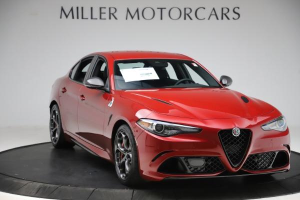 New 2020 Alfa Romeo Giulia Quadrifoglio for sale Sold at Rolls-Royce Motor Cars Greenwich in Greenwich CT 06830 11