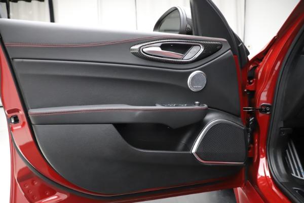 New 2020 Alfa Romeo Giulia Quadrifoglio for sale Sold at Rolls-Royce Motor Cars Greenwich in Greenwich CT 06830 17