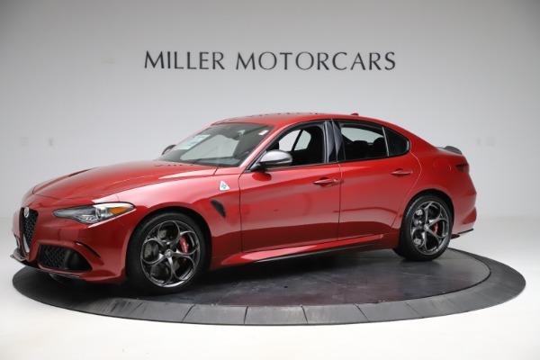 New 2020 Alfa Romeo Giulia Quadrifoglio for sale Sold at Rolls-Royce Motor Cars Greenwich in Greenwich CT 06830 2