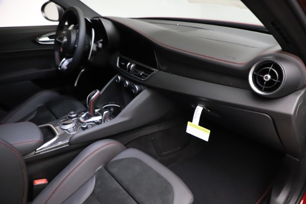 New 2020 Alfa Romeo Giulia Quadrifoglio for sale Sold at Rolls-Royce Motor Cars Greenwich in Greenwich CT 06830 22