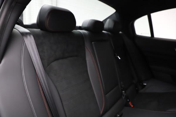 New 2020 Alfa Romeo Giulia Quadrifoglio for sale Sold at Rolls-Royce Motor Cars Greenwich in Greenwich CT 06830 26