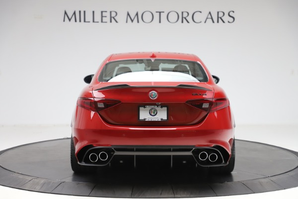 New 2020 Alfa Romeo Giulia Quadrifoglio for sale Sold at Rolls-Royce Motor Cars Greenwich in Greenwich CT 06830 6