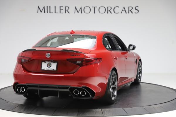 New 2020 Alfa Romeo Giulia Quadrifoglio for sale Sold at Rolls-Royce Motor Cars Greenwich in Greenwich CT 06830 7