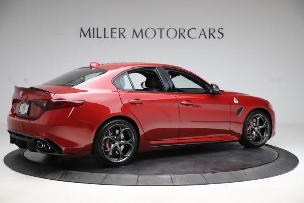 New 2020 Alfa Romeo Giulia Quadrifoglio for sale Sold at Rolls-Royce Motor Cars Greenwich in Greenwich CT 06830 8