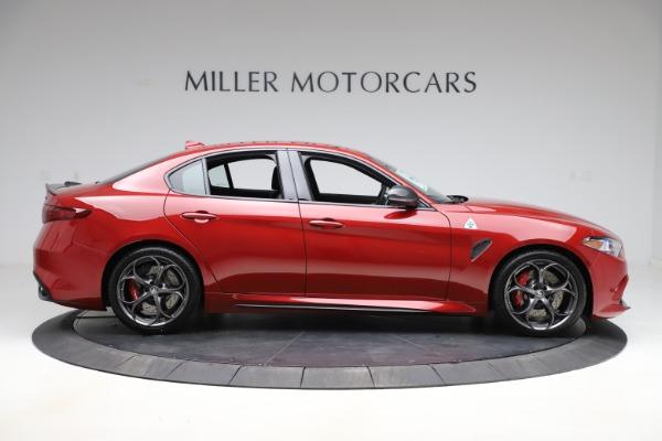 New 2020 Alfa Romeo Giulia Quadrifoglio for sale Sold at Rolls-Royce Motor Cars Greenwich in Greenwich CT 06830 9