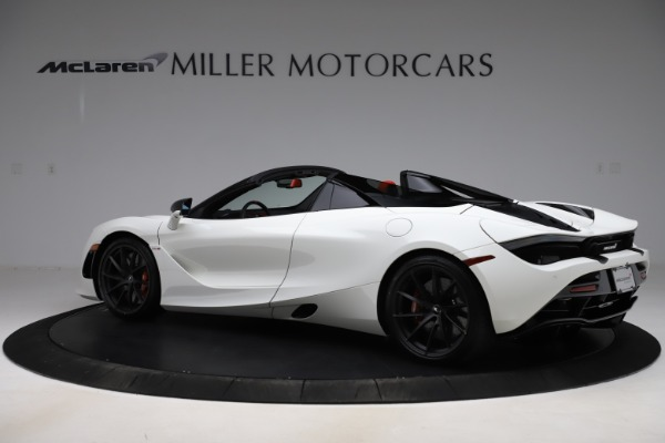 New 2020 McLaren 720S Spider Performance for sale $386,289 at Rolls-Royce Motor Cars Greenwich in Greenwich CT 06830 3