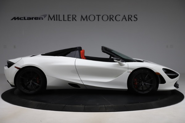 New 2020 McLaren 720S Spider Performance for sale $386,289 at Rolls-Royce Motor Cars Greenwich in Greenwich CT 06830 8