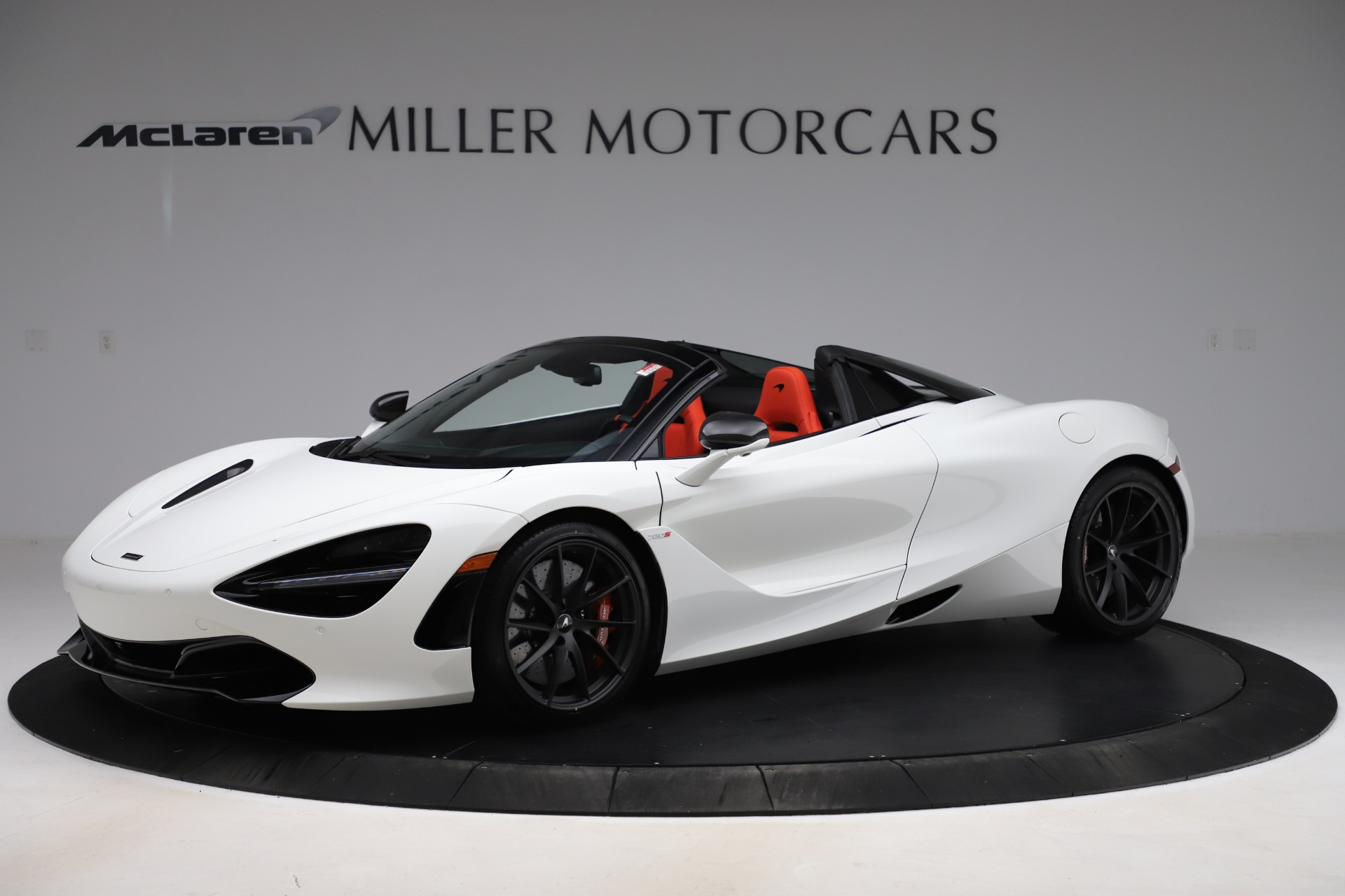 New 2020 McLaren 720S Spider Performance for sale $386,289 at Rolls-Royce Motor Cars Greenwich in Greenwich CT 06830 1