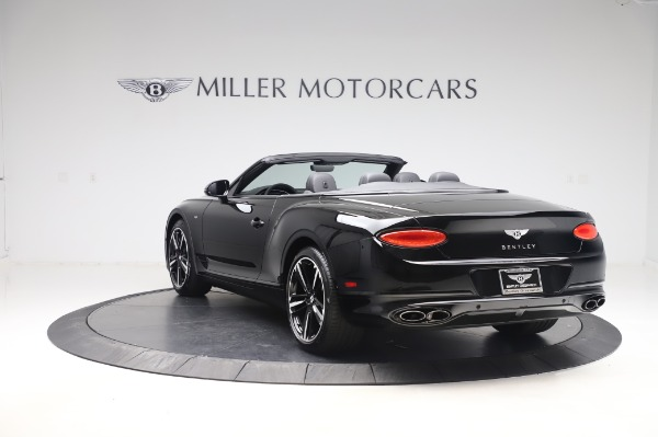 New 2020 Bentley Continental GTC V8 for sale $255,605 at Rolls-Royce Motor Cars Greenwich in Greenwich CT 06830 5