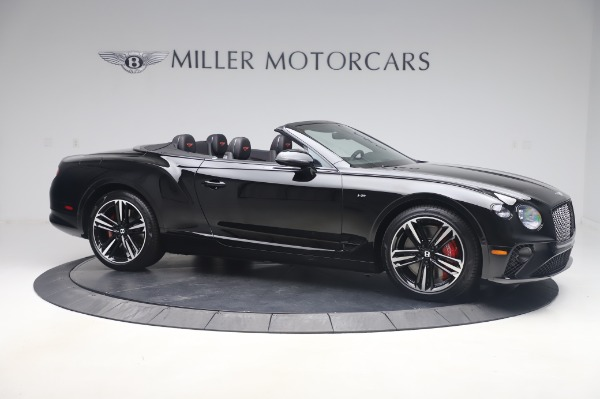 New 2020 Bentley Continental GT Convertible V8 for sale $275,045 at Rolls-Royce Motor Cars Greenwich in Greenwich CT 06830 10