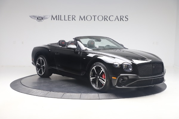 New 2020 Bentley Continental GTC V8 for sale $275,045 at Rolls-Royce Motor Cars Greenwich in Greenwich CT 06830 11