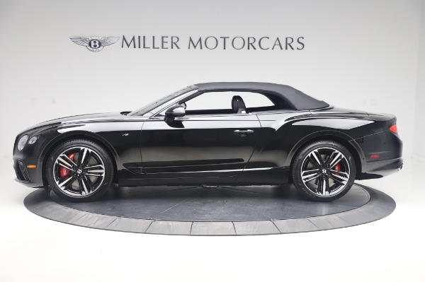 New 2020 Bentley Continental GTC V8 for sale $275,045 at Rolls-Royce Motor Cars Greenwich in Greenwich CT 06830 13