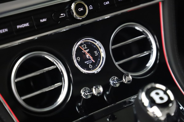 New 2020 Bentley Continental GTC V8 for sale $275,045 at Rolls-Royce Motor Cars Greenwich in Greenwich CT 06830 28