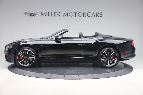 New 2020 Bentley Continental GT Convertible V8 for sale $275,045 at Rolls-Royce Motor Cars Greenwich in Greenwich CT 06830 3