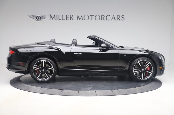 New 2020 Bentley Continental GTC V8 for sale $275,045 at Rolls-Royce Motor Cars Greenwich in Greenwich CT 06830 9