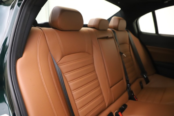 New 2020 Alfa Romeo Giulia Ti Sport Q4 for sale $54,995 at Rolls-Royce Motor Cars Greenwich in Greenwich CT 06830 26