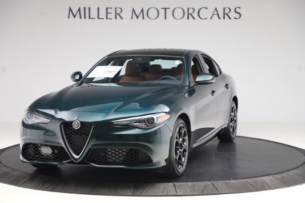 New 2020 Alfa Romeo Giulia Ti Sport Q4 for sale $54,995 at Rolls-Royce Motor Cars Greenwich in Greenwich CT 06830 1