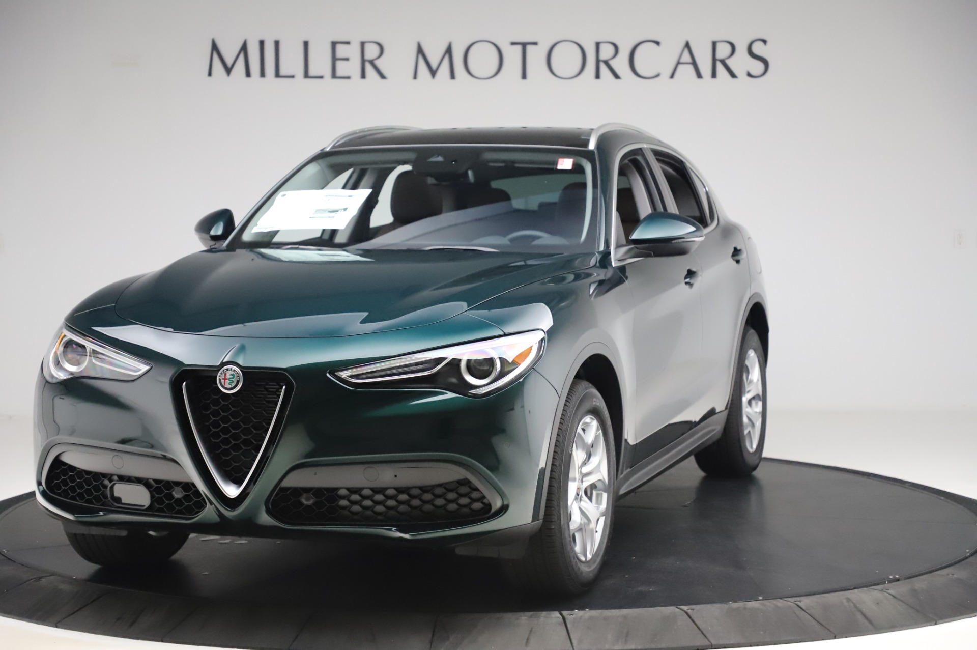 New 2020 Alfa Romeo Stelvio for sale $48,745 at Rolls-Royce Motor Cars Greenwich in Greenwich CT 06830 1