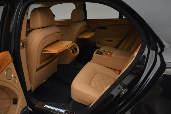 Used 2013 Bentley Mulsanne Le Mans Edition- Number 1 of 48 for sale Sold at Rolls-Royce Motor Cars Greenwich in Greenwich CT 06830 25