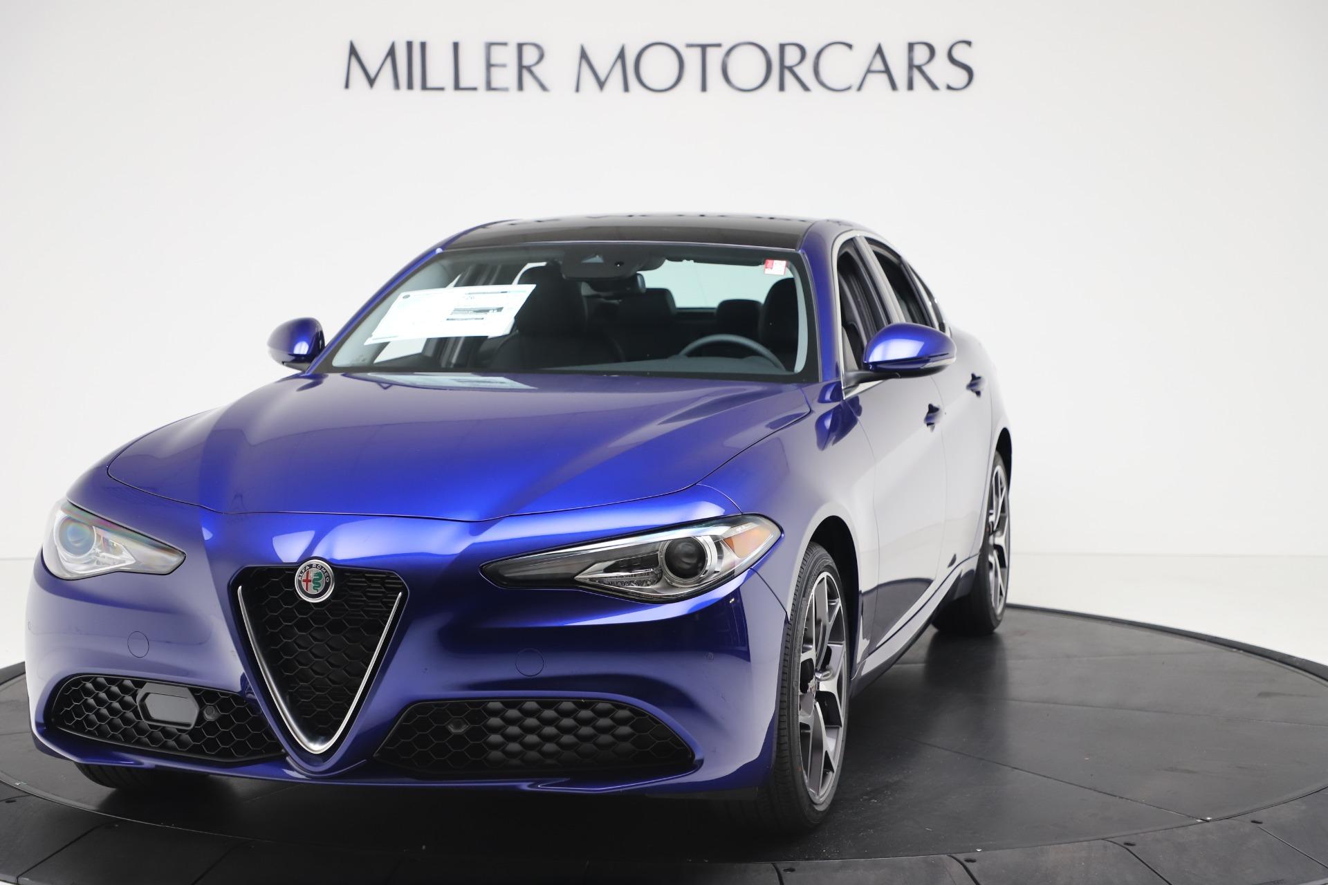New 2020 Alfa Romeo Giulia Ti Q4 for sale $37,900 at Rolls-Royce Motor Cars Greenwich in Greenwich CT 06830 1