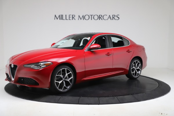 New 2020 Alfa Romeo Giulia Ti Q4 for sale Sold at Rolls-Royce Motor Cars Greenwich in Greenwich CT 06830 2