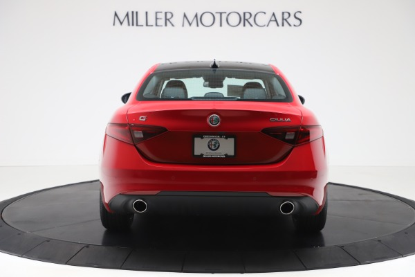 New 2020 Alfa Romeo Giulia Ti Q4 for sale Sold at Rolls-Royce Motor Cars Greenwich in Greenwich CT 06830 6