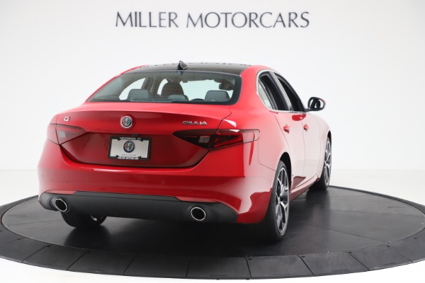 New 2020 Alfa Romeo Giulia Ti Q4 for sale Sold at Rolls-Royce Motor Cars Greenwich in Greenwich CT 06830 7