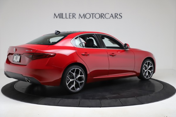 New 2020 Alfa Romeo Giulia Ti Q4 for sale Sold at Rolls-Royce Motor Cars Greenwich in Greenwich CT 06830 8