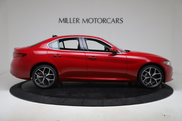 New 2020 Alfa Romeo Giulia Ti Q4 for sale Sold at Rolls-Royce Motor Cars Greenwich in Greenwich CT 06830 9