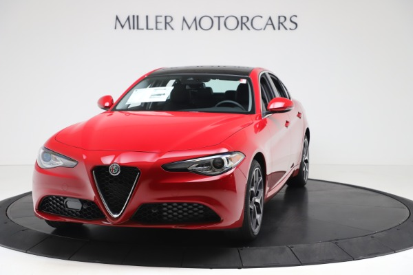 New 2020 Alfa Romeo Giulia Ti Q4 for sale Sold at Rolls-Royce Motor Cars Greenwich in Greenwich CT 06830 1
