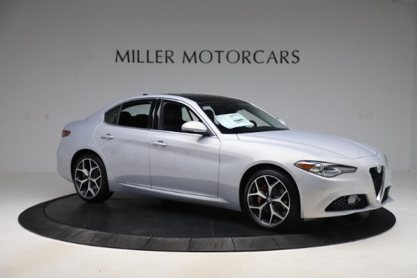 New 2020 Alfa Romeo Giulia Ti Q4 for sale $52,345 at Rolls-Royce Motor Cars Greenwich in Greenwich CT 06830 10