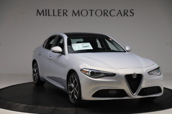 New 2020 Alfa Romeo Giulia Ti Q4 for sale $52,345 at Rolls-Royce Motor Cars Greenwich in Greenwich CT 06830 11