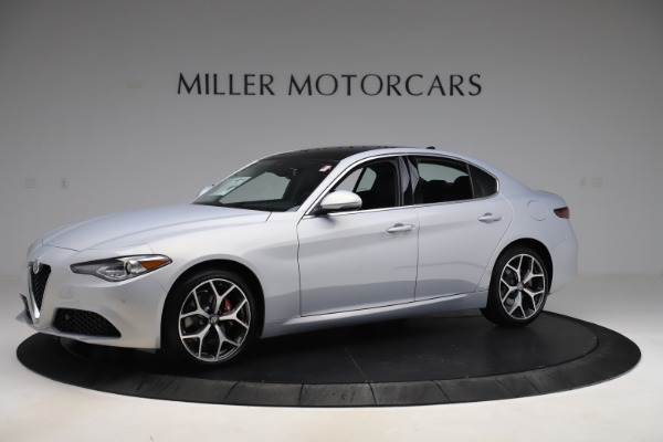 New 2020 Alfa Romeo Giulia Ti Q4 for sale $52,345 at Rolls-Royce Motor Cars Greenwich in Greenwich CT 06830 2