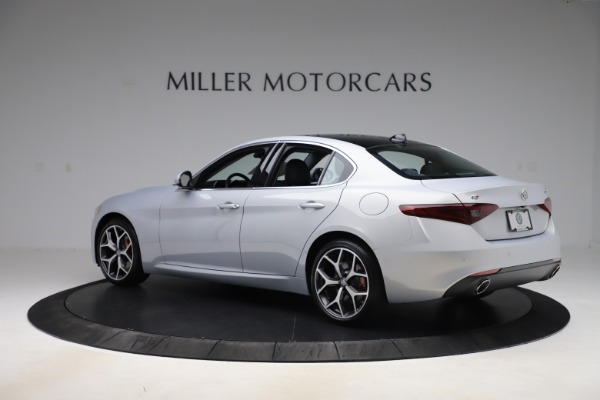 New 2020 Alfa Romeo Giulia Ti Q4 for sale $52,345 at Rolls-Royce Motor Cars Greenwich in Greenwich CT 06830 4