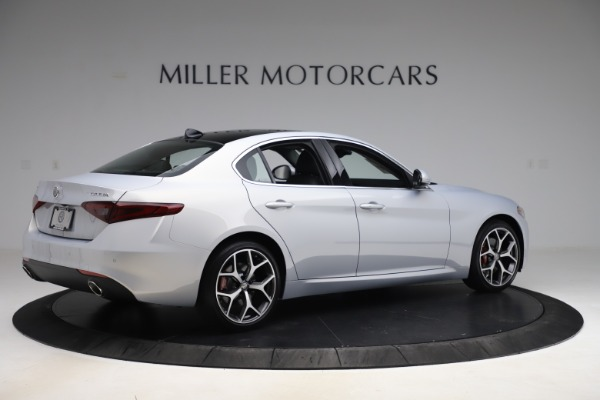 New 2020 Alfa Romeo Giulia Ti Q4 for sale $52,345 at Rolls-Royce Motor Cars Greenwich in Greenwich CT 06830 8