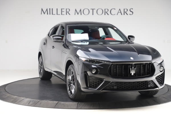 New 2020 Maserati Levante S Q4 GranSport for sale $99,985 at Rolls-Royce Motor Cars Greenwich in Greenwich CT 06830 11