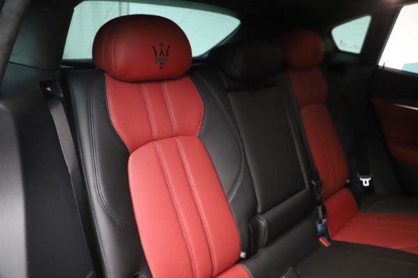 New 2020 Maserati Levante S Q4 GranSport for sale $99,985 at Rolls-Royce Motor Cars Greenwich in Greenwich CT 06830 26