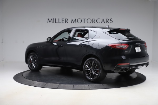 New 2020 Maserati Levante S Q4 GranSport for sale $99,985 at Rolls-Royce Motor Cars Greenwich in Greenwich CT 06830 4