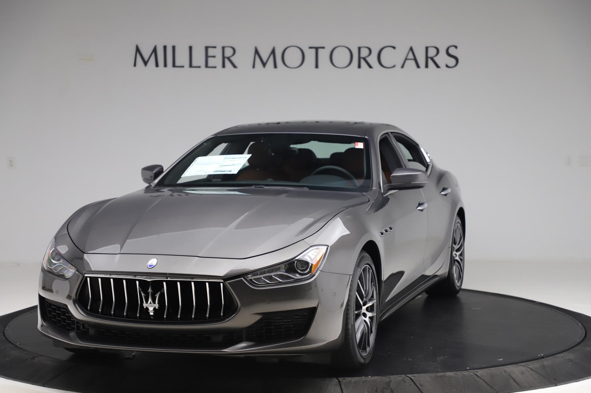 New 2020 Maserati Ghibli S Q4 for sale $82,385 at Rolls-Royce Motor Cars Greenwich in Greenwich CT 06830 1