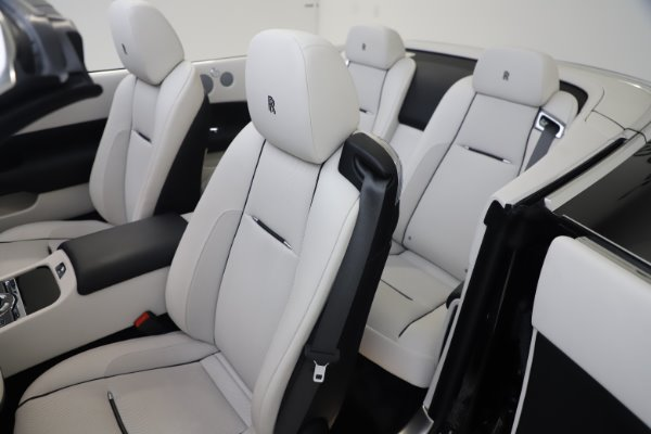 Used 2017 Rolls-Royce Dawn Base for sale Call for price at Rolls-Royce Motor Cars Greenwich in Greenwich CT 06830 18