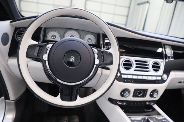 Used 2017 Rolls-Royce Dawn Base for sale Call for price at Rolls-Royce Motor Cars Greenwich in Greenwich CT 06830 23